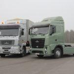 Седельные тягачи МАЗ с двигателями Евро-6. Фото maz.by