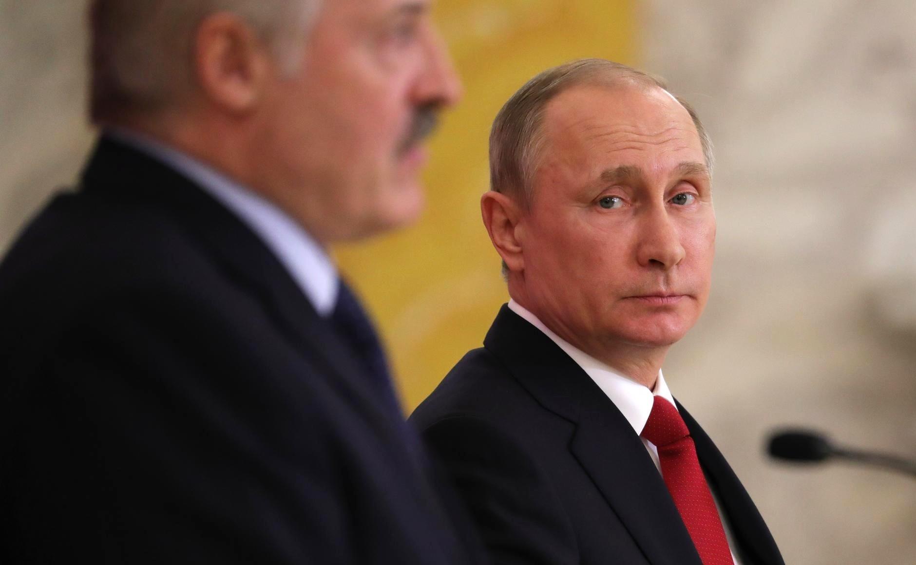 Кремль сомневается в союзничестве Лукашенко