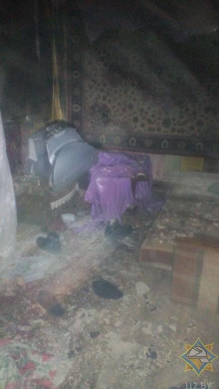 Житель Витебска спас соседей на пожаре