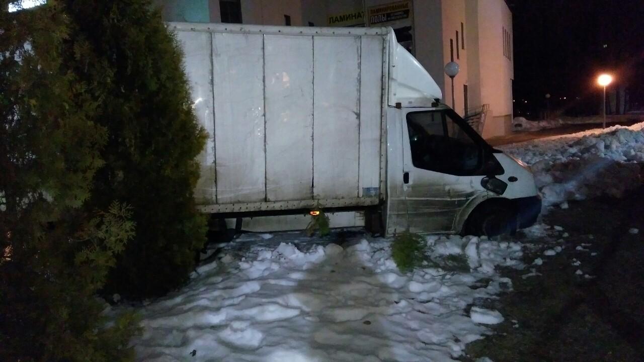В Витебске ГАИ гонялось за пьяным на грузовике