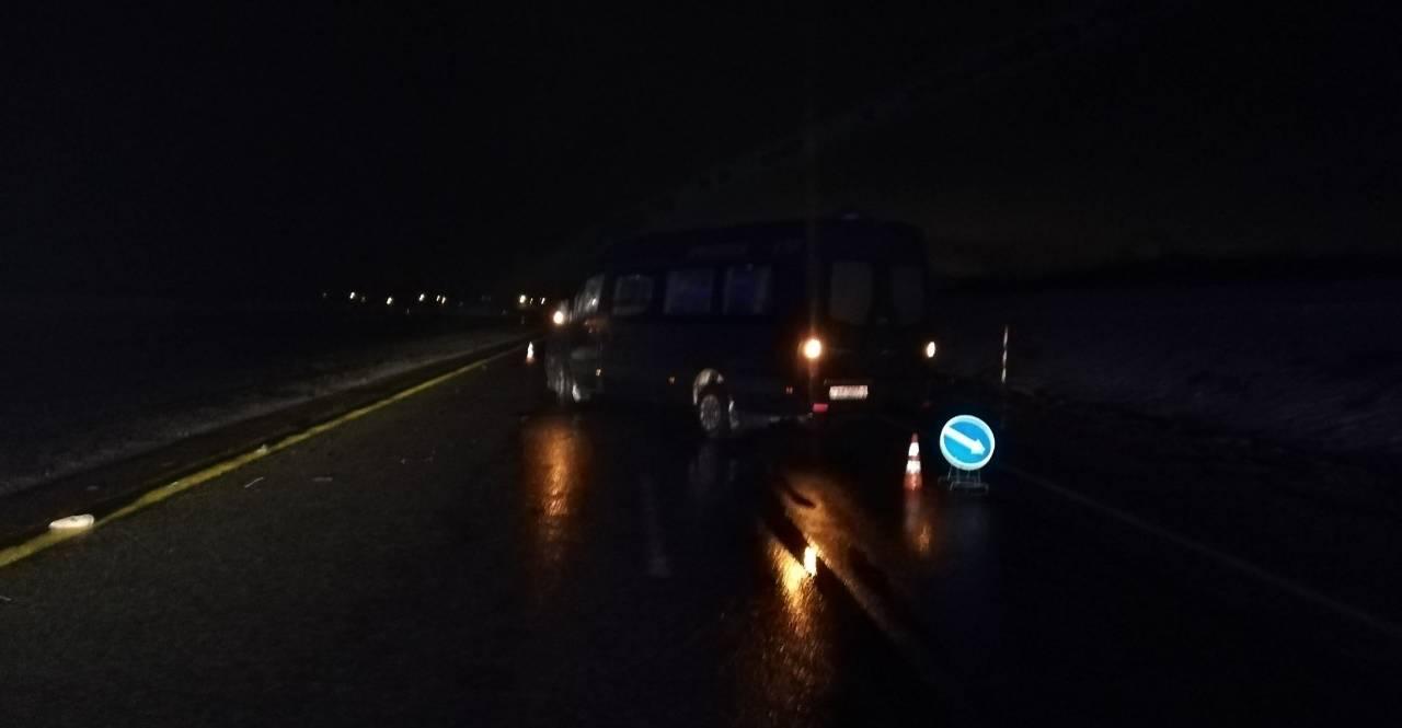 Mercedes сбил неизвестную в Оршанском районе