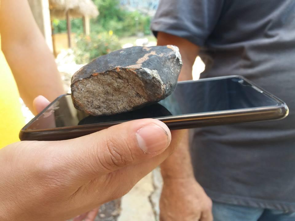 Метеорит упал на кубинский город