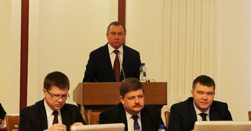 Макей: Беларусь нормализует отношения на евроатлантическом векторе