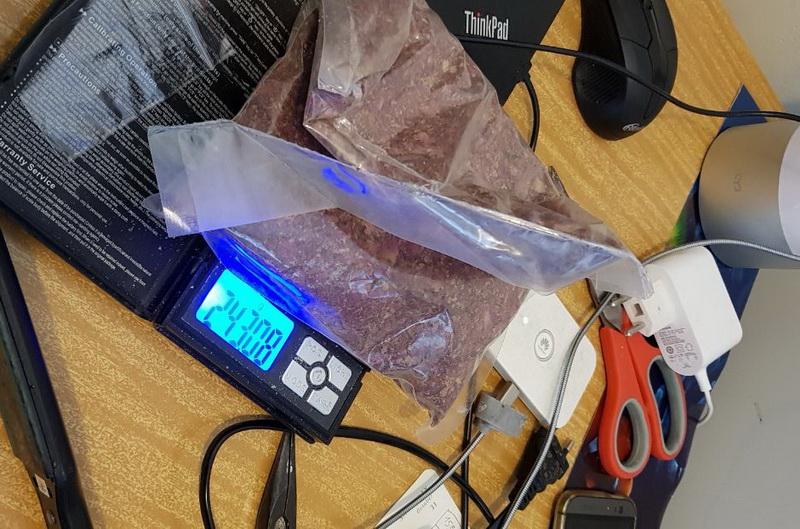 У пары наркодилеров изъяли 1,2 килограмма психотропов