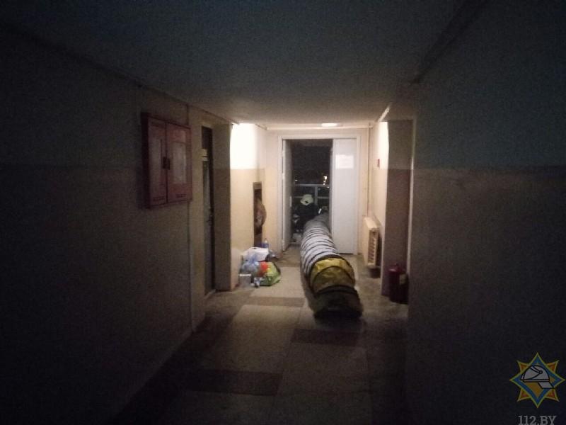 1141 человека эвакуировали из общежития в Минске