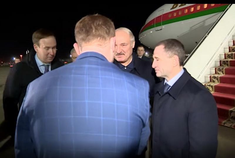 Президенты Беларуси и России сегодня встретятся в Сочи