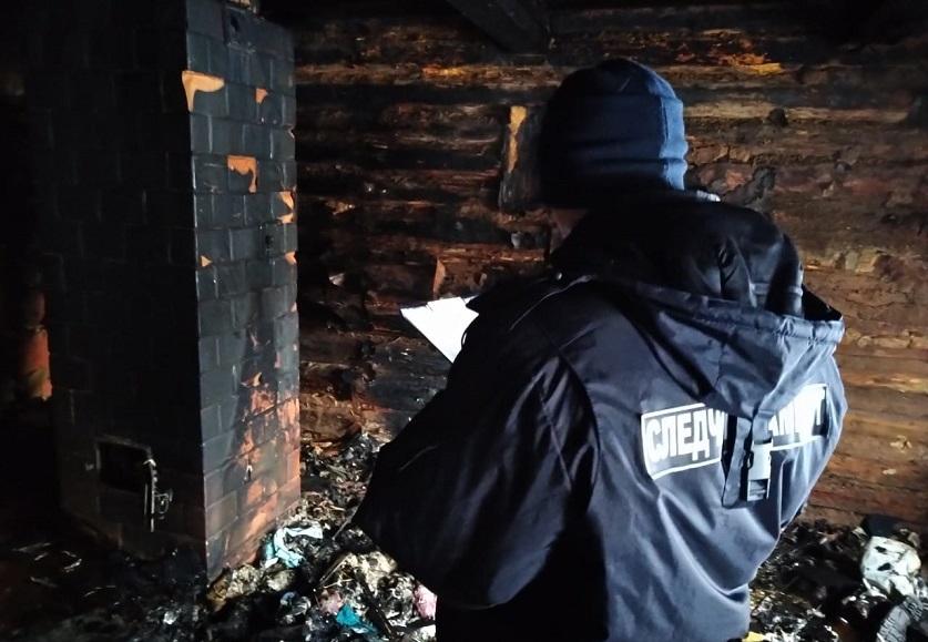 Три человека погибли на пожаре в Молодечненском районе
