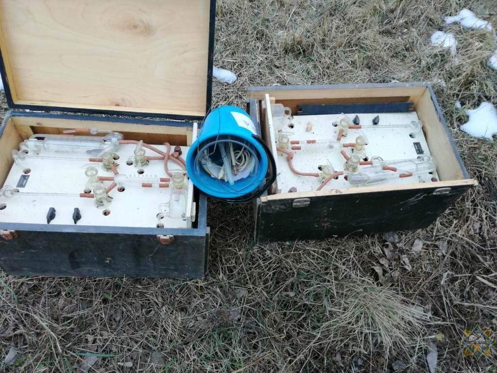 В Мозыре в заброшенной котельной нашли 200 грамм ртути