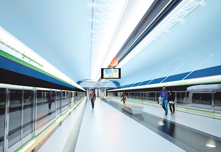 Появились рендеры двух новых станций метро