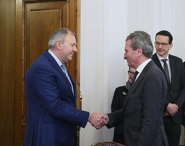 Сергей Румас призвал как можно скорее заключить базовое соглашение между Беларусью и ЕС