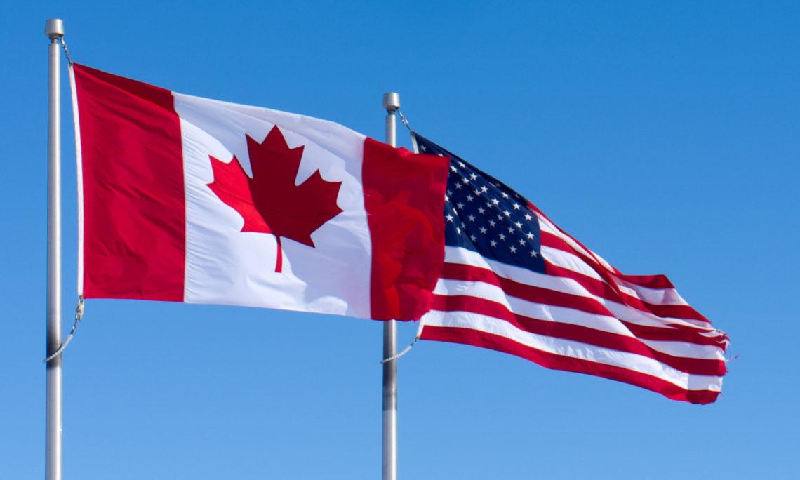 картинки флага сша и канады несколько легенд, связанных