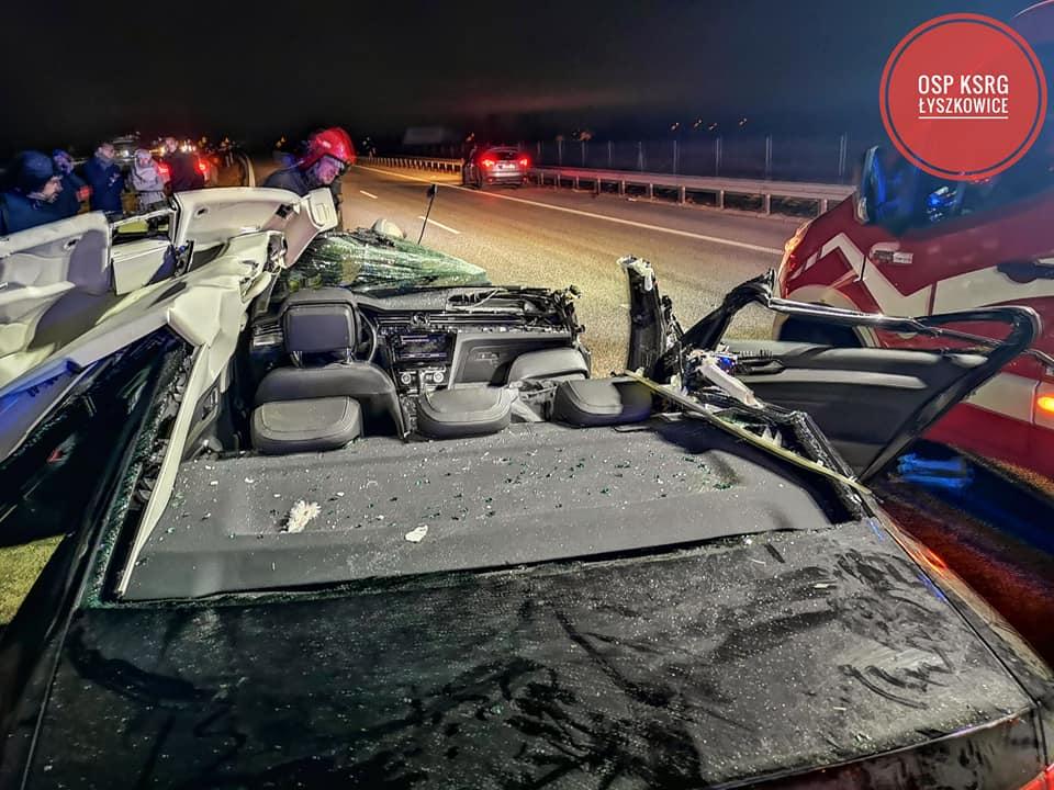 Три беларуса пострадали в ДТП в Польше