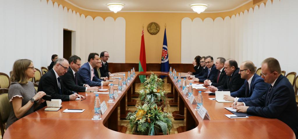 Макей обсудил сотрудничество с депутатами Бундестага