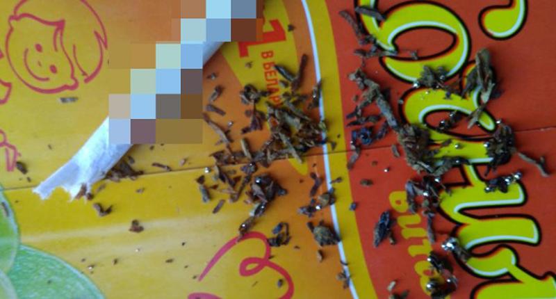 Под Оршей многодетную семью отселили из дома из-за ртути в сигаретах