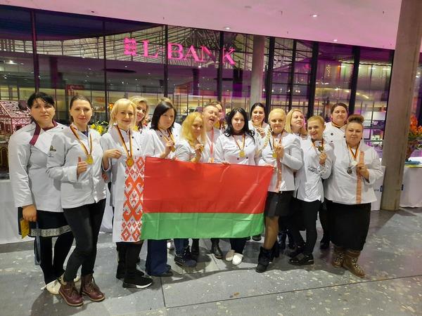 Беларусские кондитеры завоевали 14 медалей на Всемирной кулинарной олимпиаде