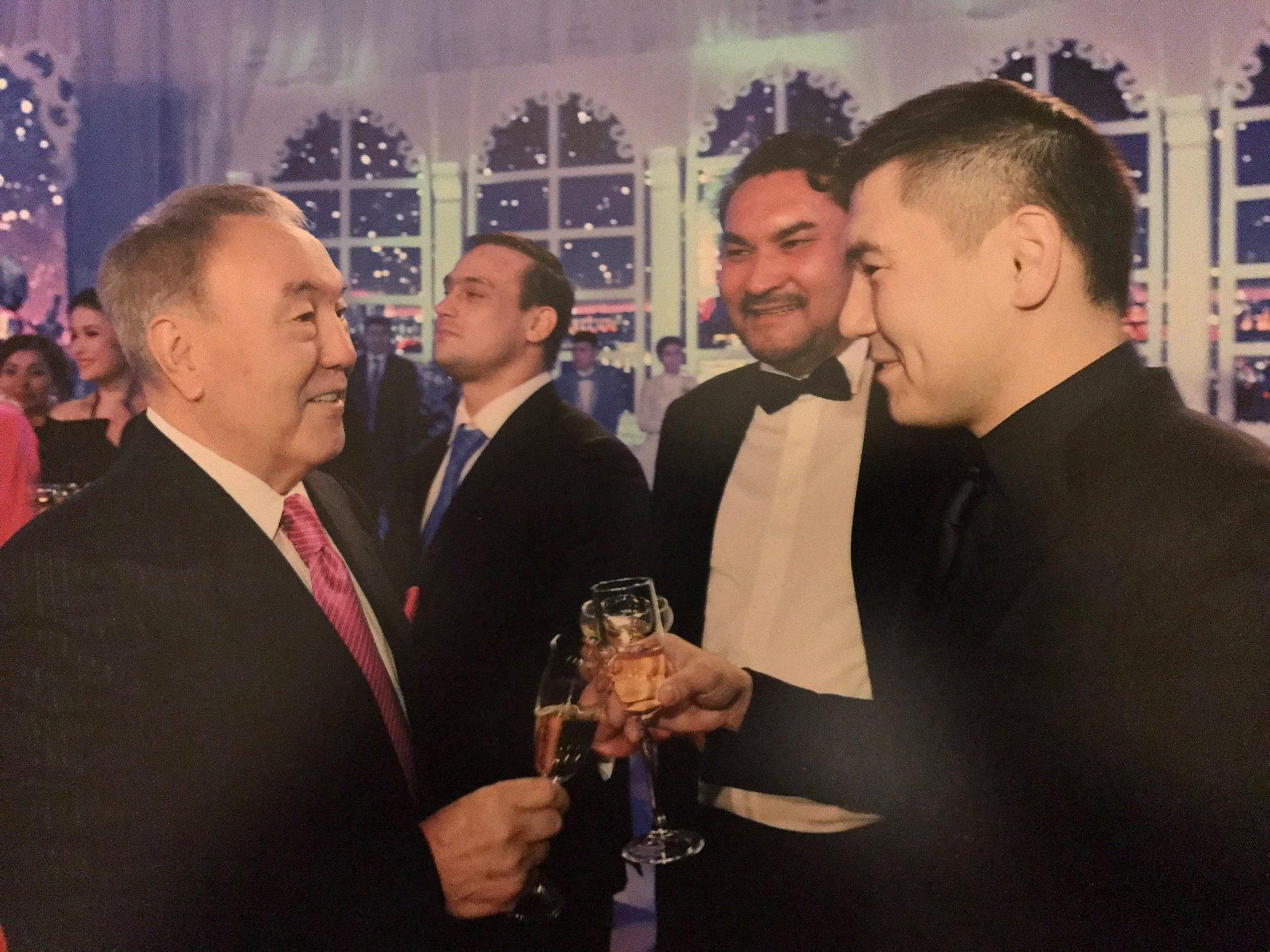 Внук Назарбаева заявил, что он его сын, и попросил убежища в Великобритании