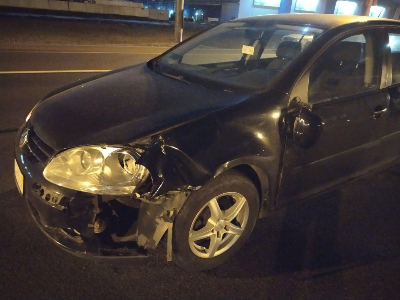 В Минске на МКАД Volkswagen сбил пешехода-нарушителя