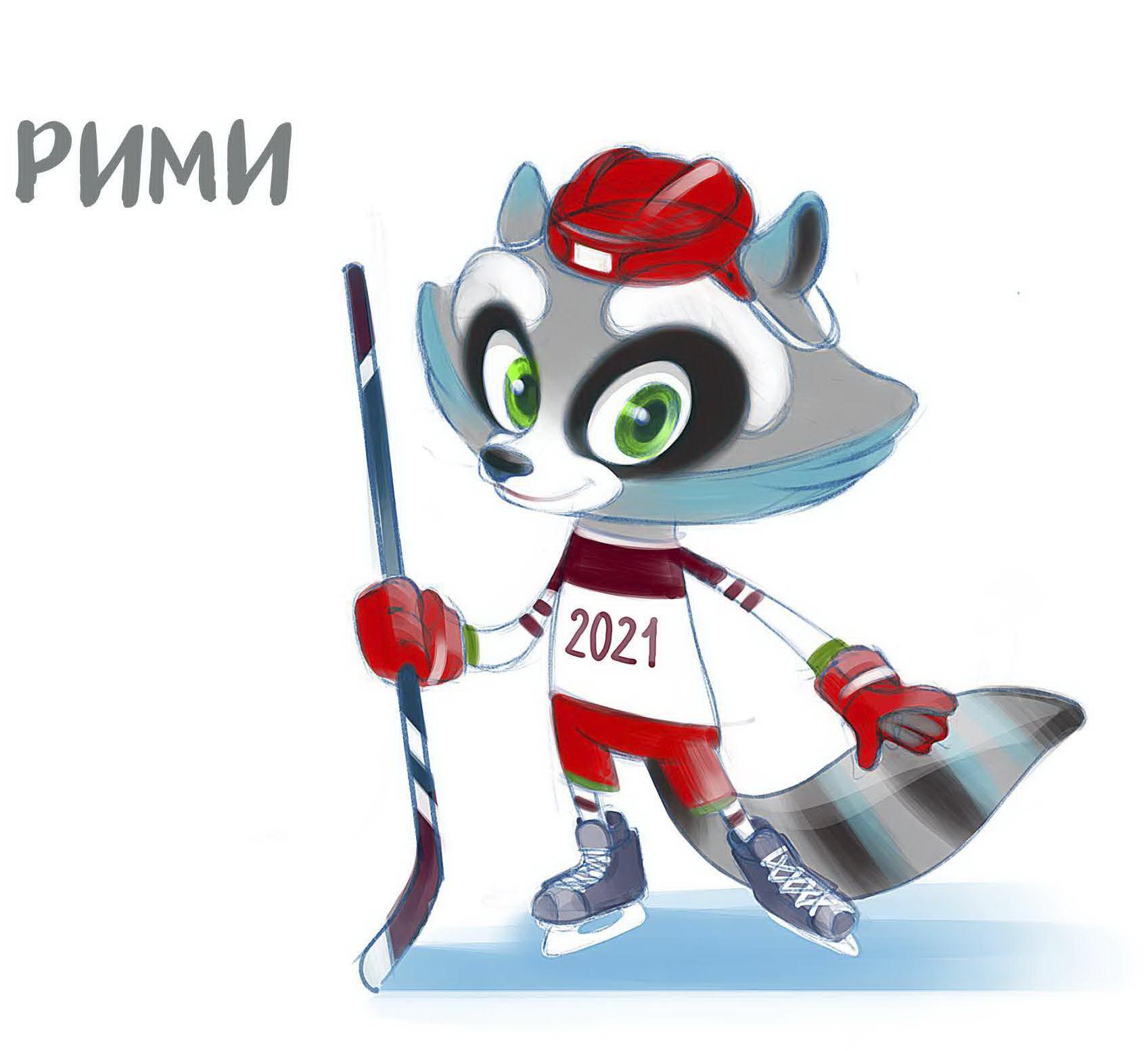 В Минске представили талисман Чемпионата мира по хоккею 2021 года