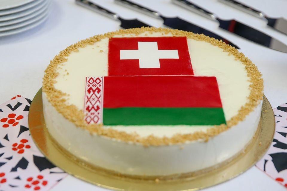 Фотофакт: Макей и Кассис открыли посольство Швейцарии в Минске
