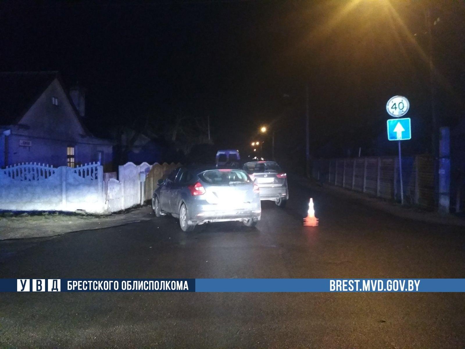 Ребенок пострадал в ДТП в Бресте