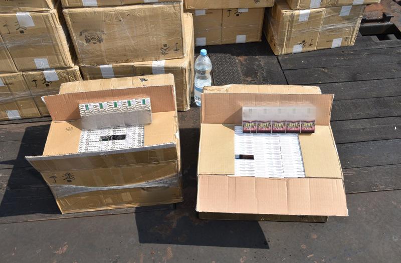 Сигареты на более 100 тыс. долларов пытались нелегально провезти из Беларуси в Польшу