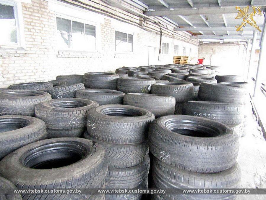 В ЕАЭС пытались незаконно ввезти более трех тысяч бэушных шин