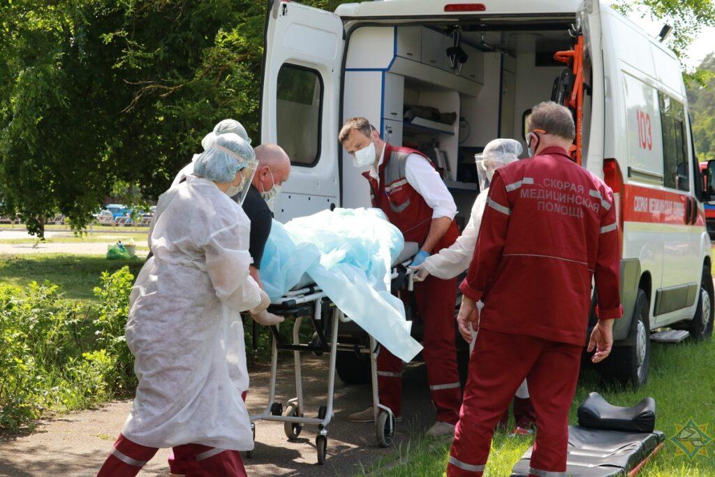 У одного из пострадавших от взрыва на подстанции под Гродно ожоги 50% тела