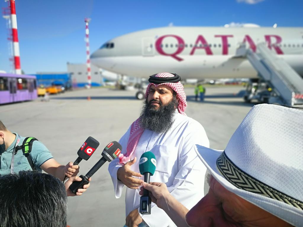 В Беларусь прибыл гуманитарный груз из Катара