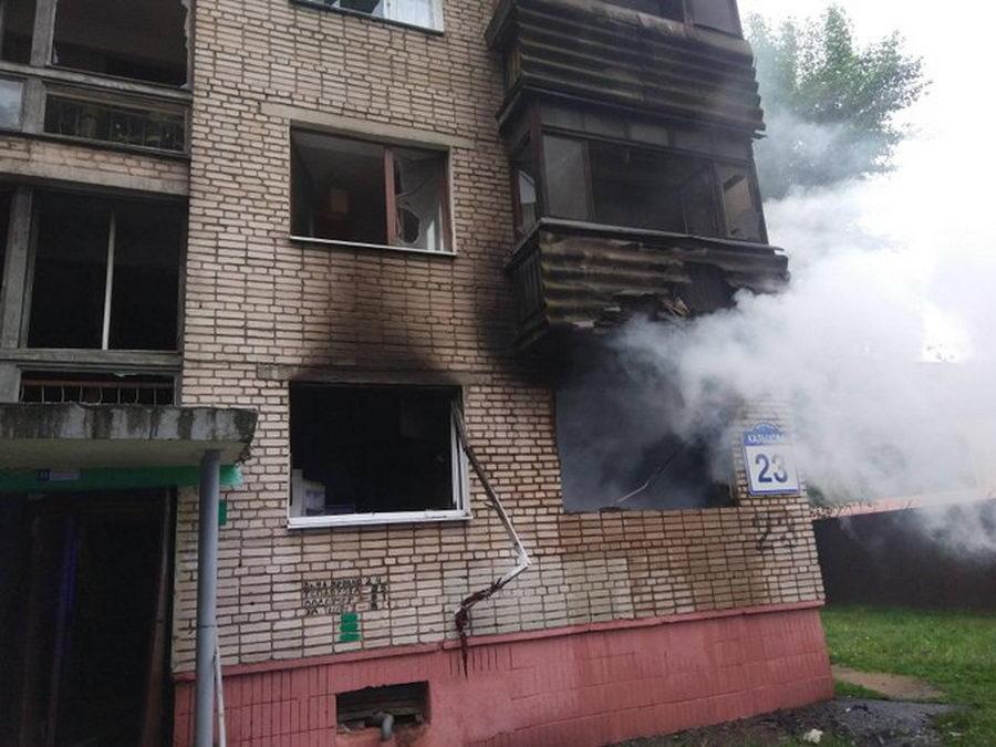 В Минске произошел взрыв на улице Кольцова