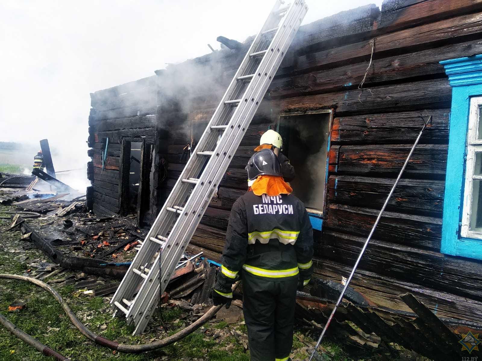 Лесник спас детей на пожаре в Лельчицком районе