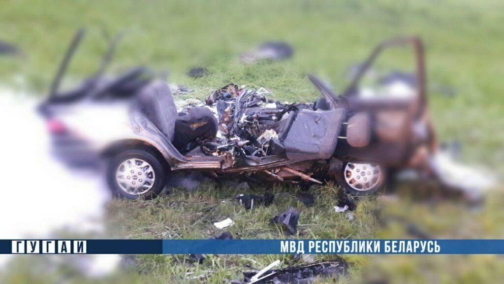 В ДТП под Минском погибли три человека