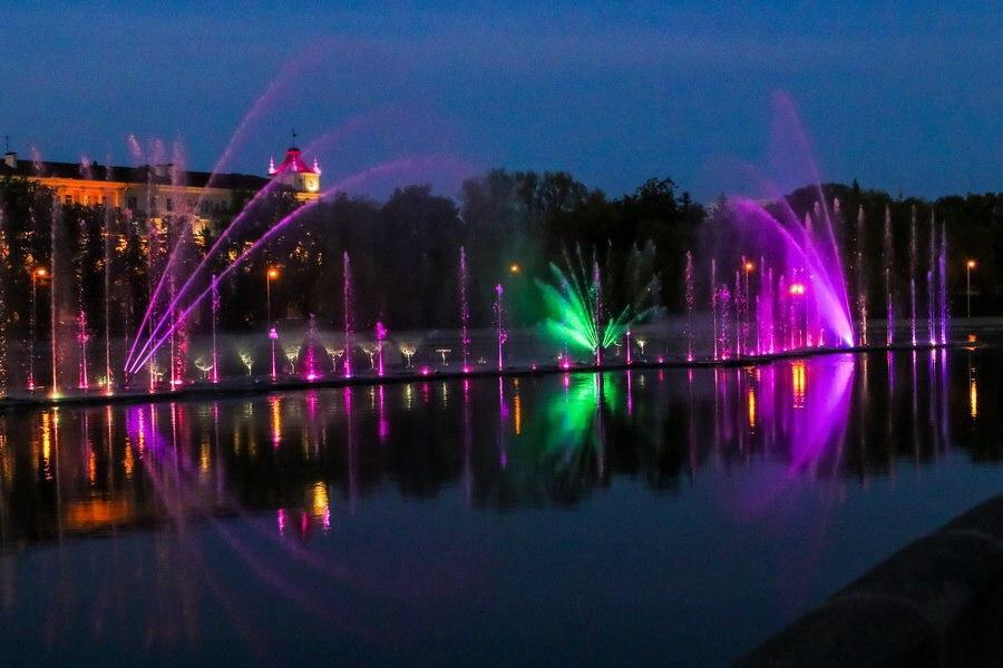 В День независимости в Минске откроют светомузыкальный фонтан
