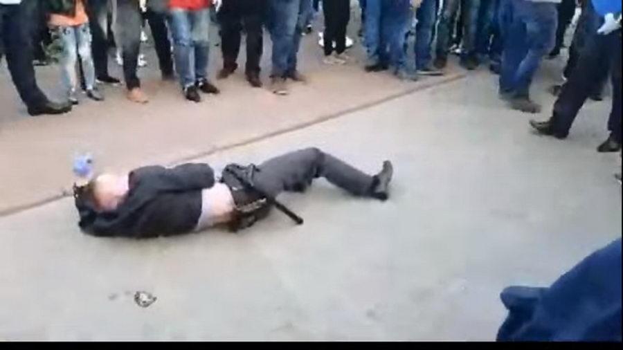 Активист, уложивший на асфальт милиционера в Гродно, написал письмо из СИЗО