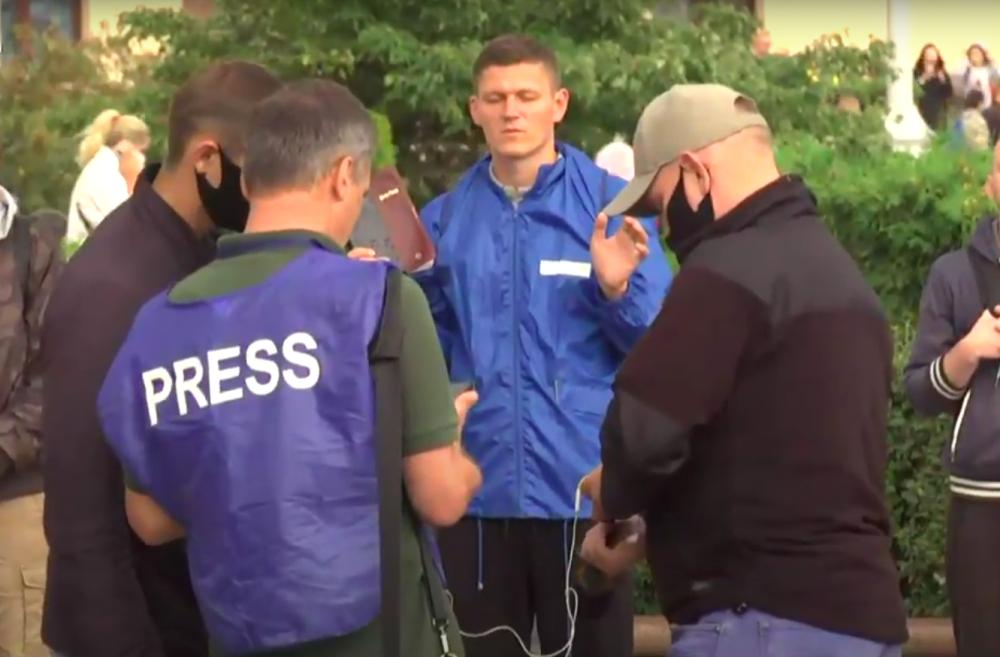 На площади Независимости в Минске опять задержания
