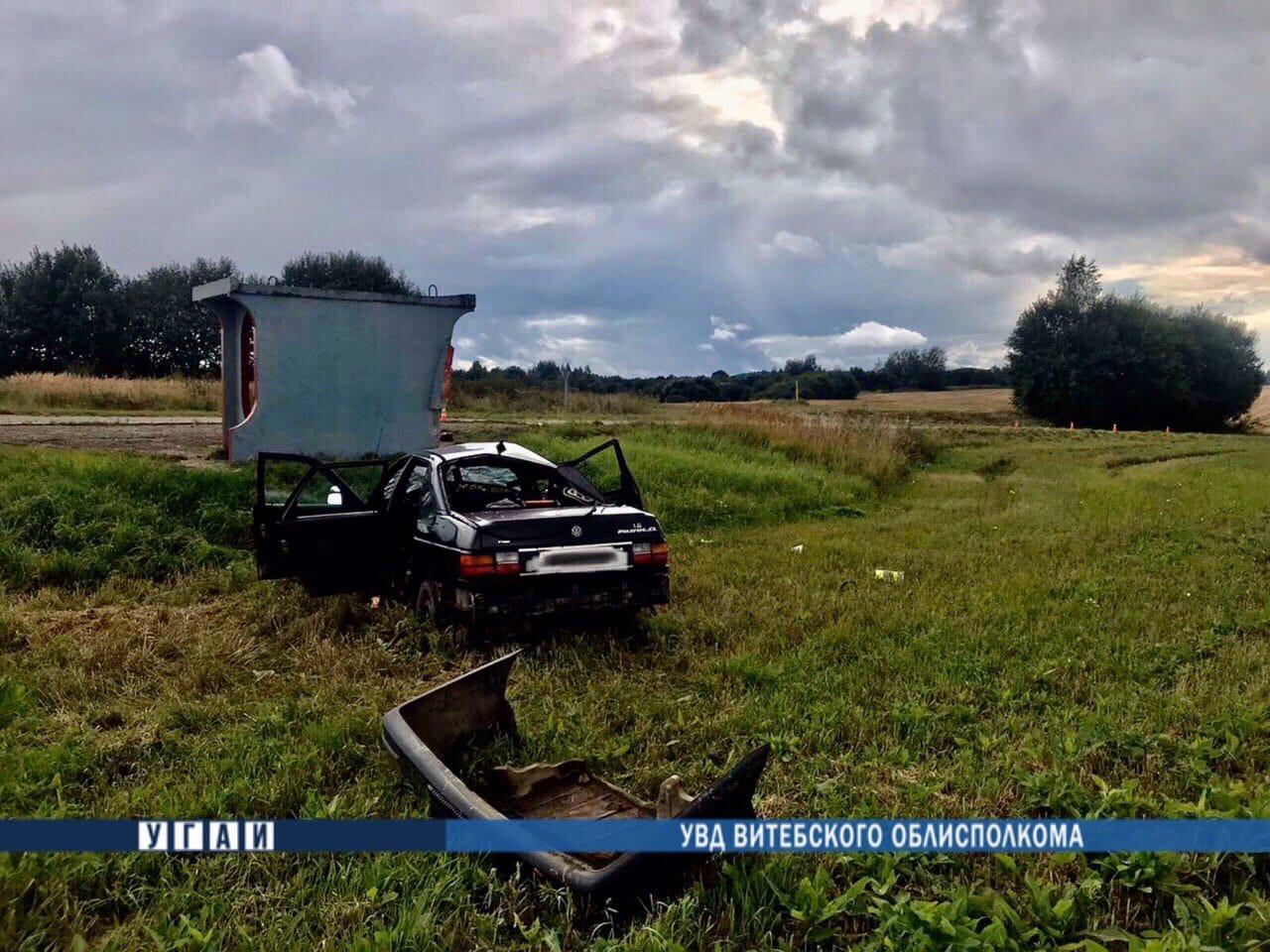 Два человека погибли в аварии под Оршей