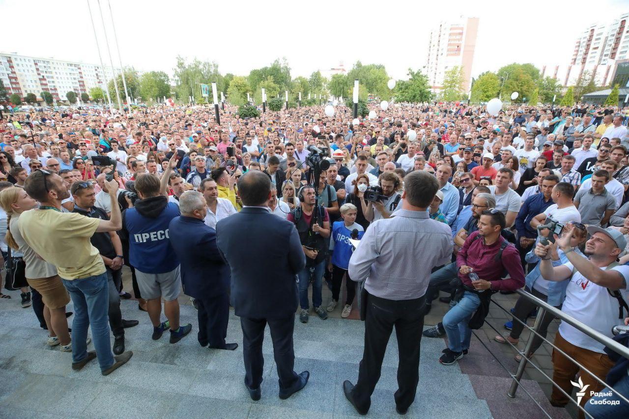 Что происходит в Беларуси вечером 14 августа: онлайн