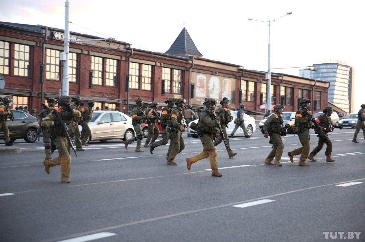 В Минске погиб один из демонстрантов (Онлайн)