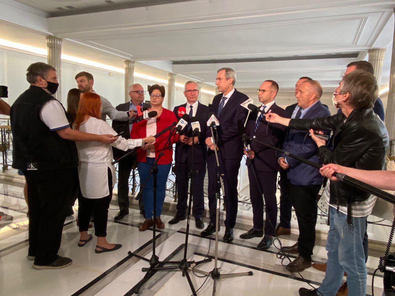 Латушко провел ряд политических встреч в Польше