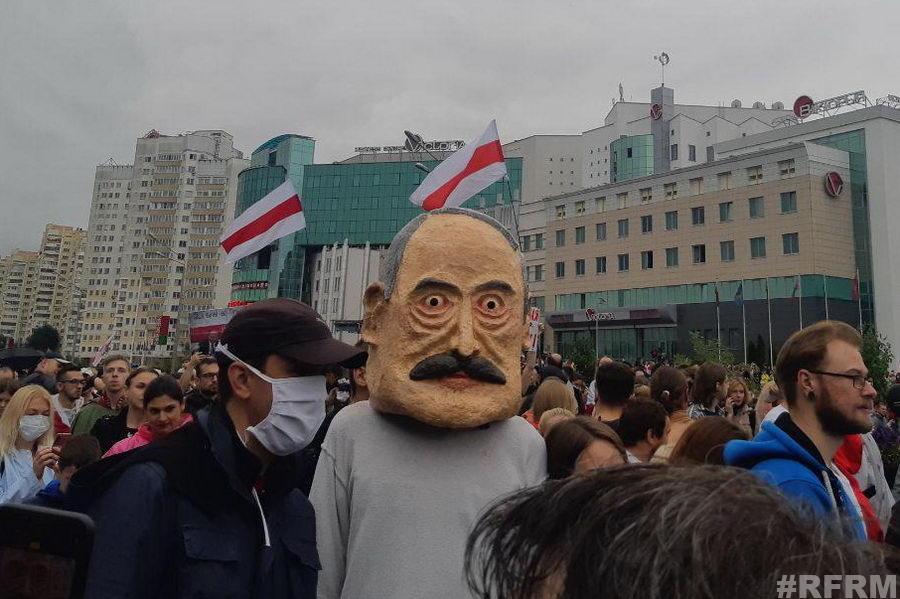 В Минске прошла воскресная акция протеста (онлайн)