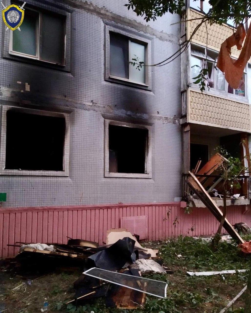 СК возбудил уголовное дело по факту взрыва газа в Бобруйске