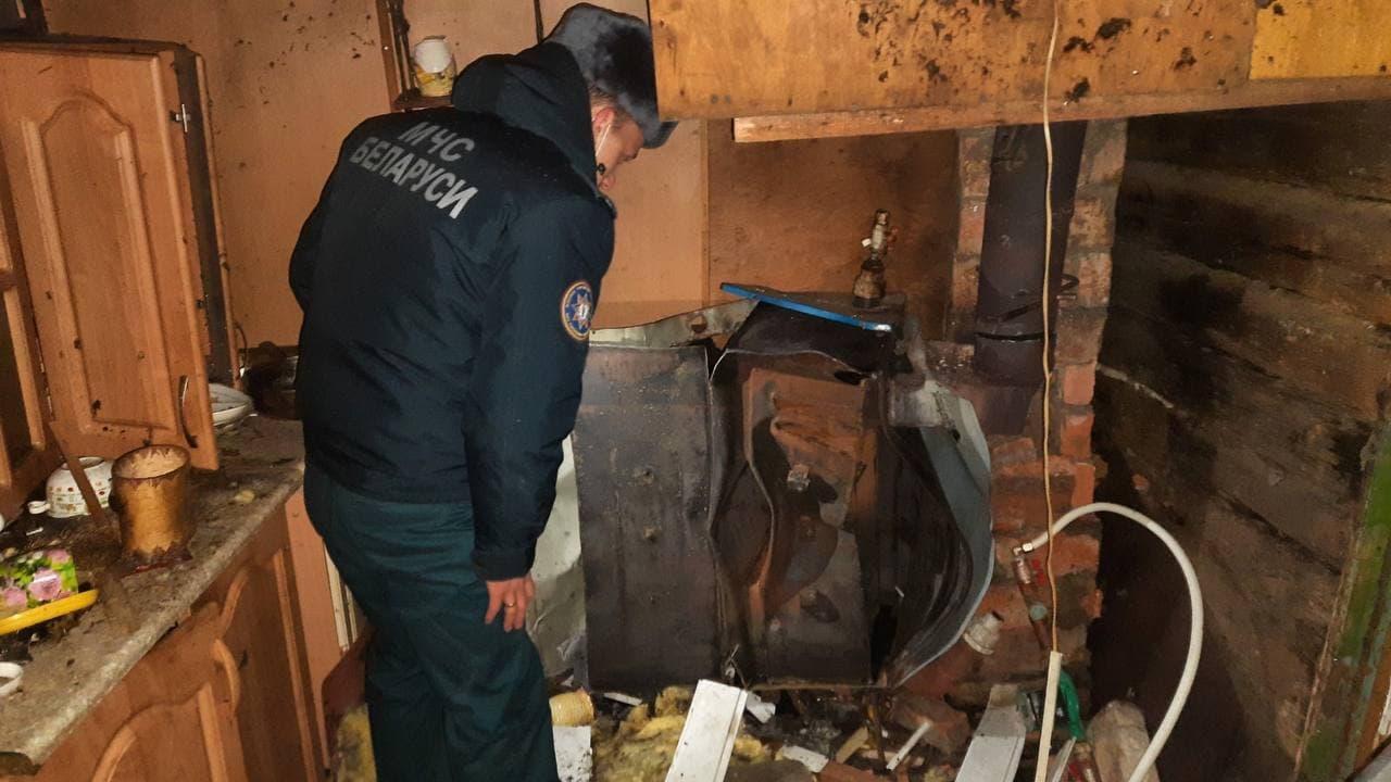 Отопительный котел взорвался в частном доме в Минске