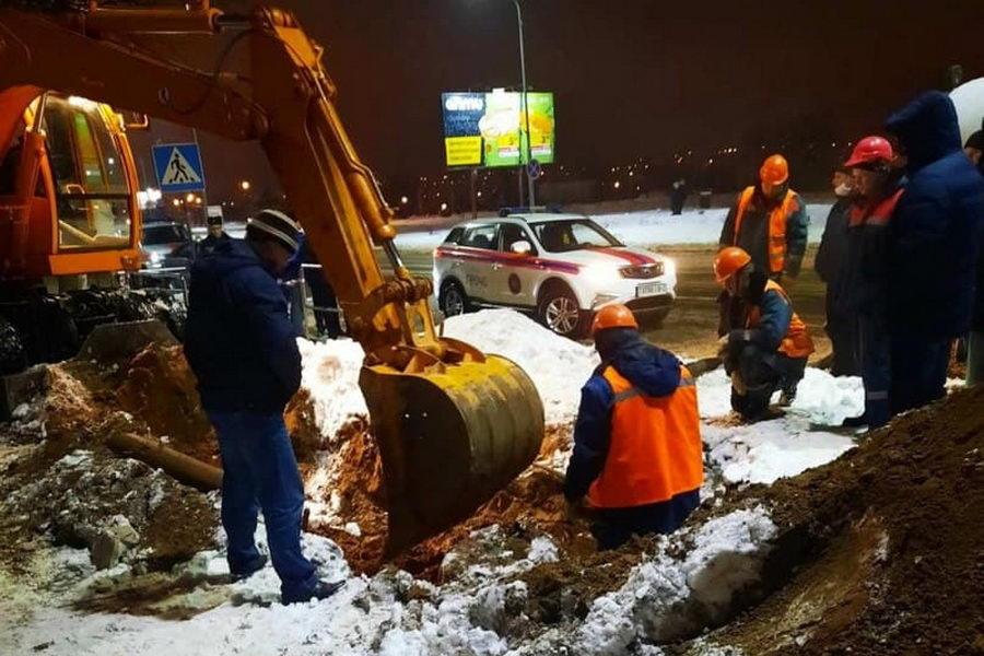 Минск, Бобруйск, Орша - по всей Беларуси прорывает трубы