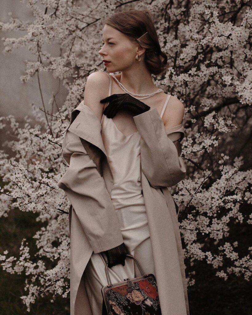 Александра Воробьева, девушка Vogue: Хотелось бы прогуляться в белом пальто по свободной Беларуси