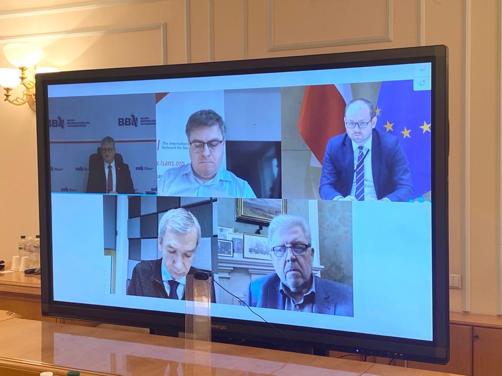 Польша и Украина обсудили влияние России на события в Беларуси