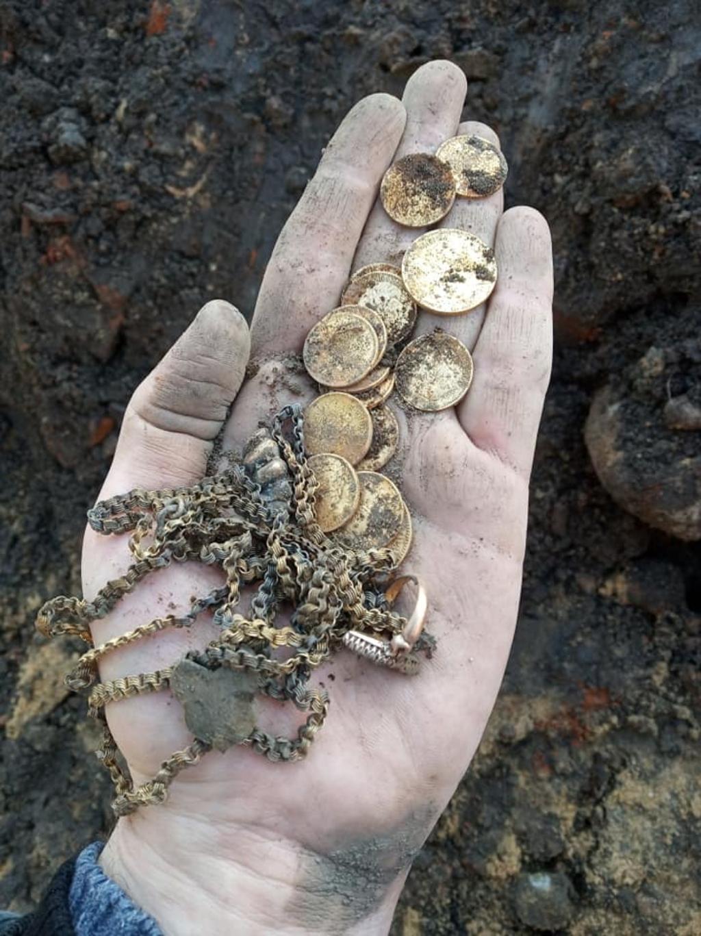 В минском парке нашли золотые монеты времен Николая II