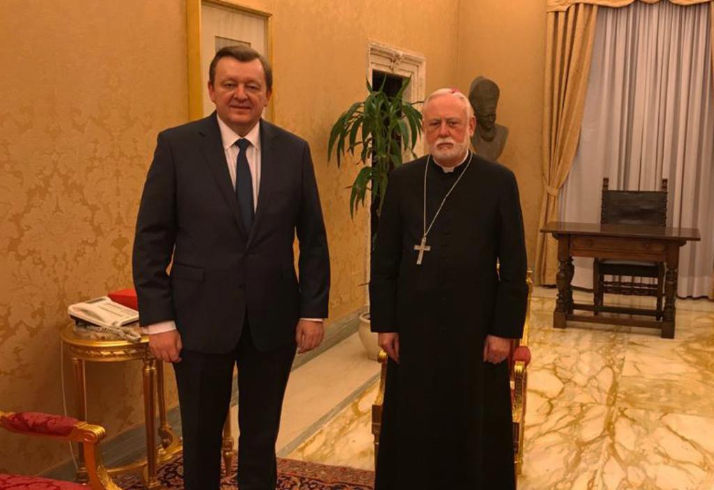 Беларусь выступила за активизацию сотрудничества с Ватиканом