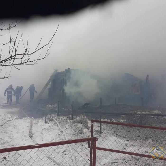 В Толочинском районе на пожарах домов погибли их хозяева