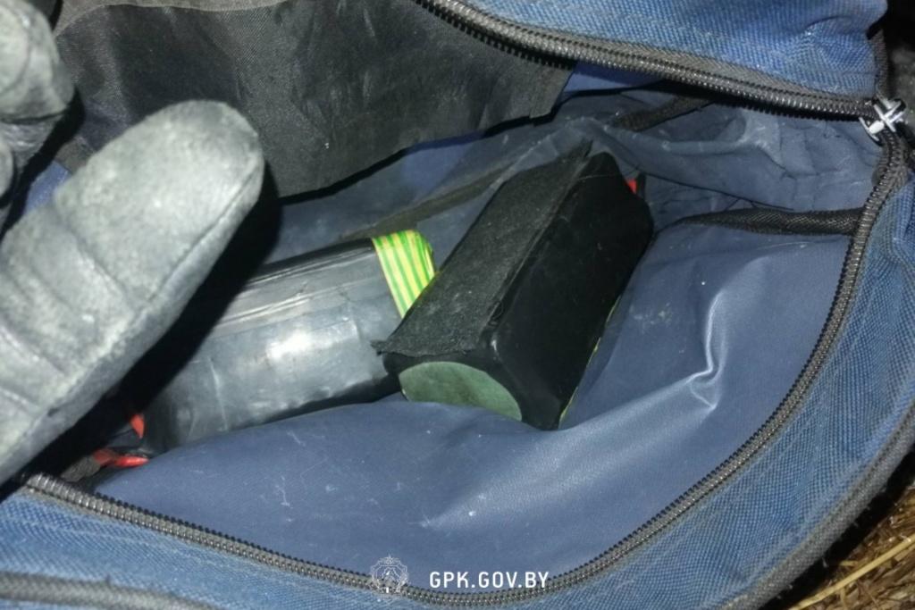 На беларусско-польской границе перехватили дрон с сигаретами