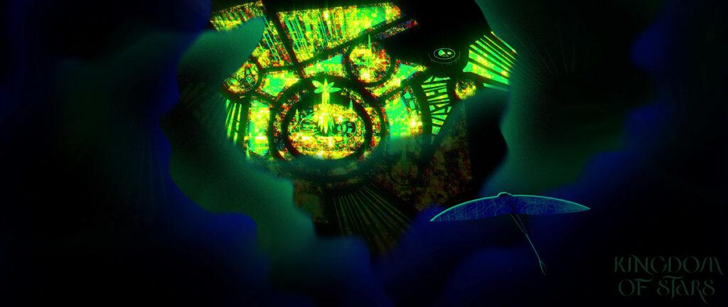 """Беларусский аниматор Иван Гопиенко выложил в сеть свой экспериментальный фильм """"Королевство звезд"""""""
