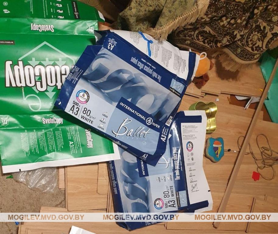 В Могилеве 8 человек задержали за распространение «самиздата»